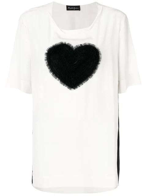 Rossella Jardini Tulle Heart T In White