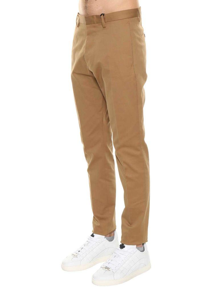 Dsquared2 Cropped Tailored Trousers In Biscotto