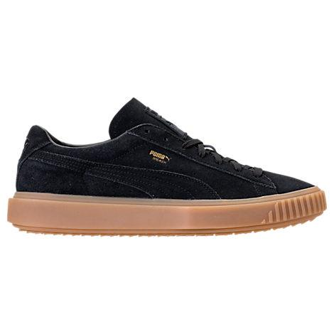 2aebb1b06f9f Puma Men s Breaker Suede Gum Casual Sneakers From Finish Line In Black