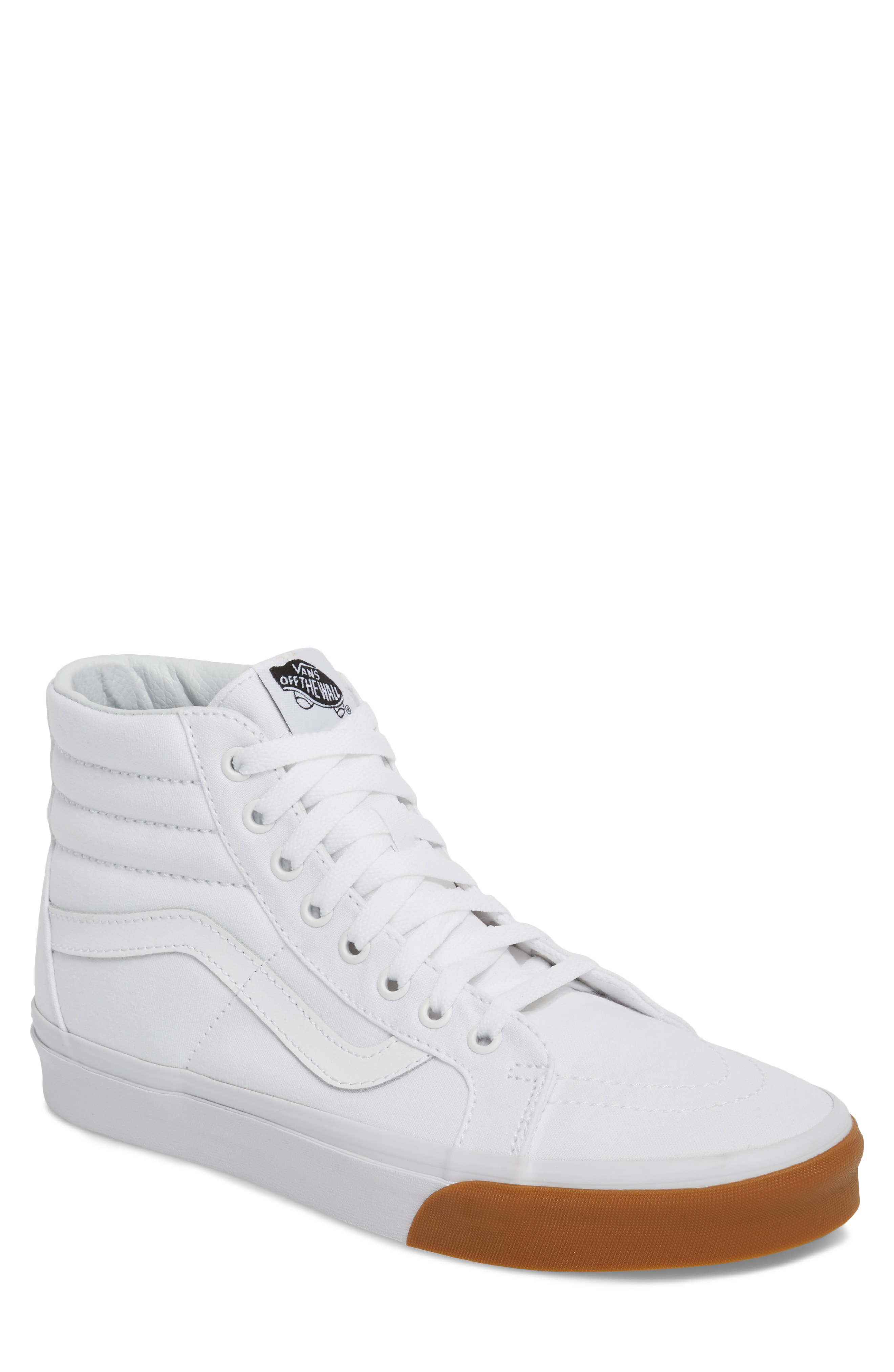 b356414b3d Tough canvas construction elevates a high-top sneaker stamped with cool  branding. Style Name  Vans  sk8-Hi Reissue  Sneaker (Men). Style Number   1033995 8.