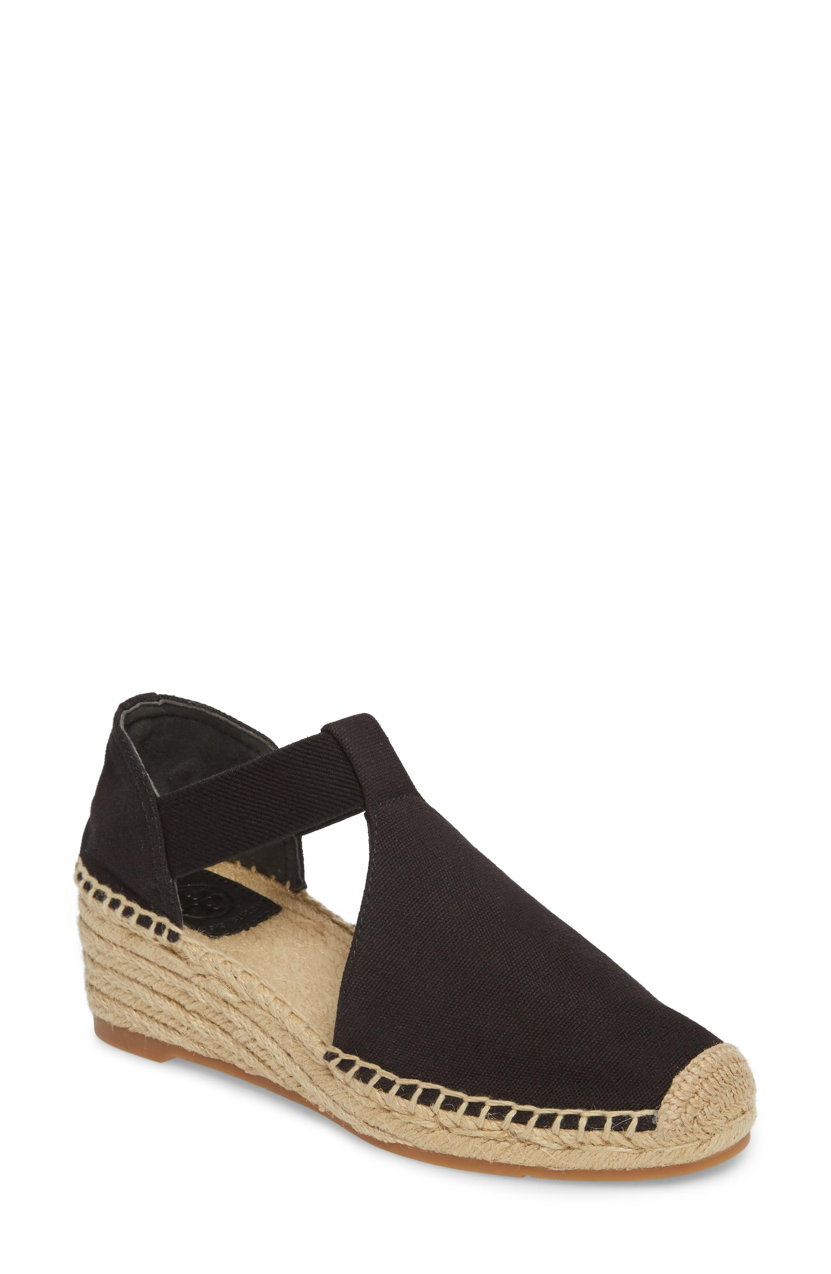 e47e9e5f087 Tory Burch Catalina 3 Espadrille Wedge Sandal In Perfect Black  Perfect  Black
