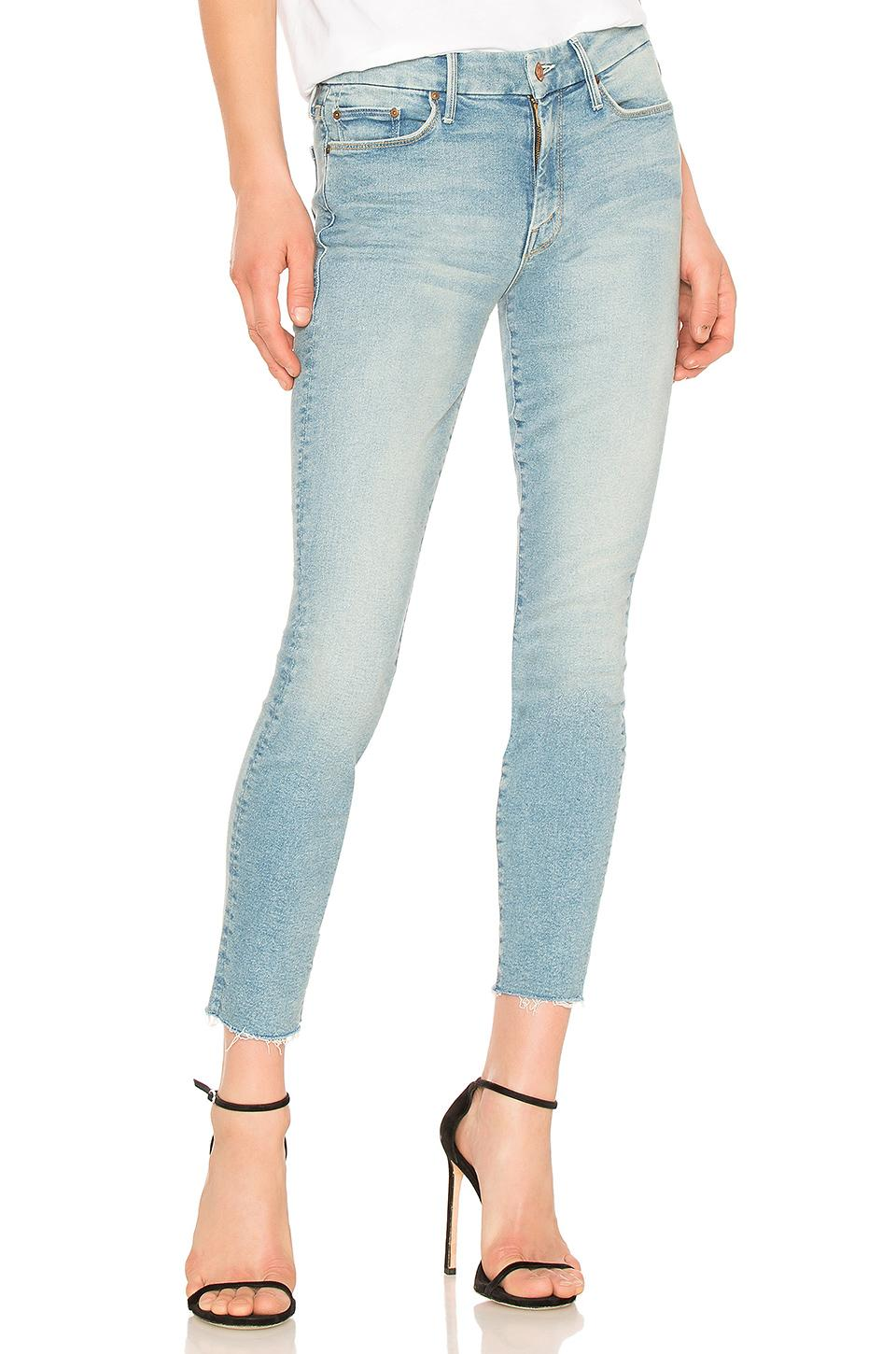 3a0e72ff7c0d Mother The Looker Ankle Skinny Jeans In Ready To Roll In Blue   ModeSens
