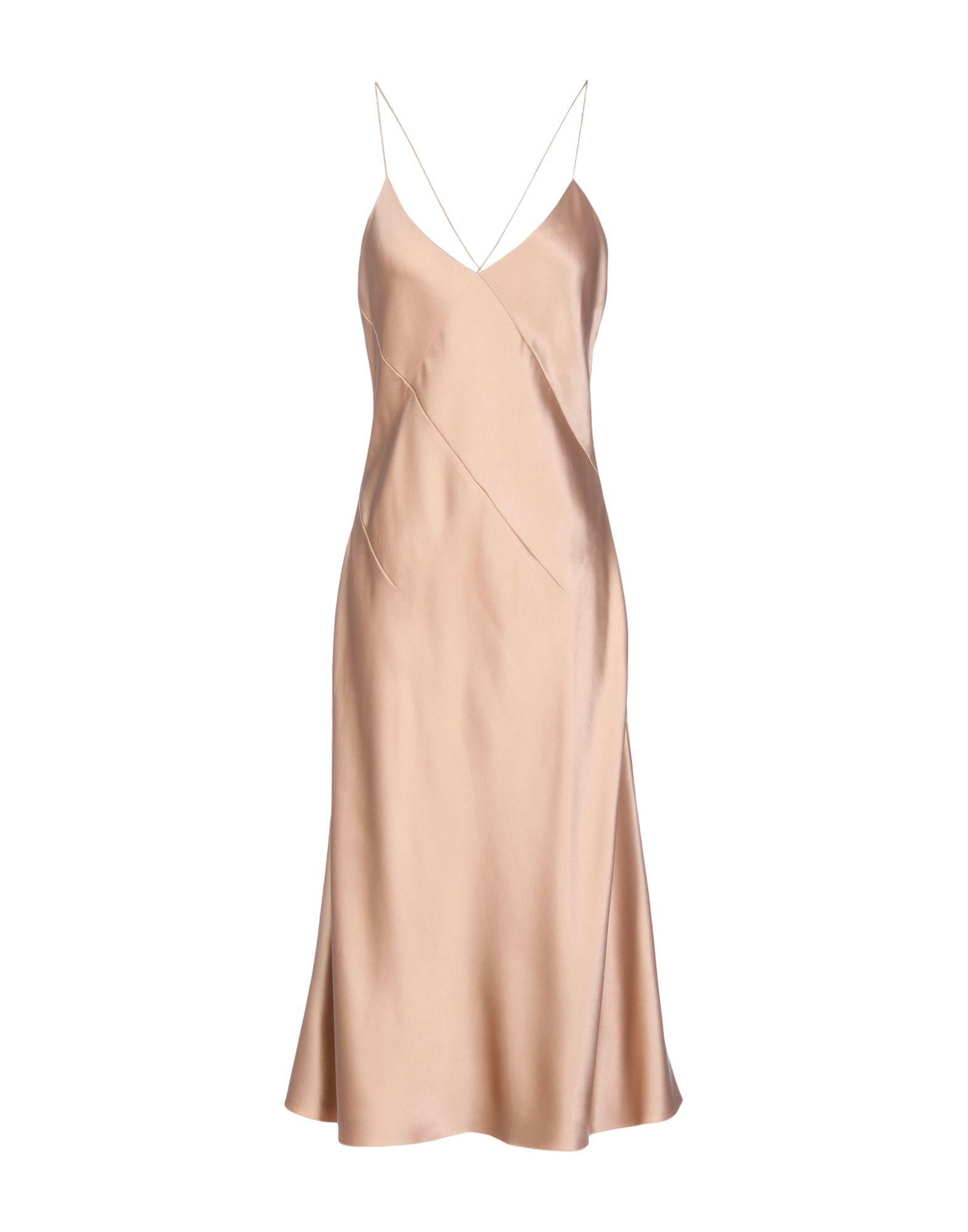Cushnie Et Ochs Knee-Length Dresses In Light Brown