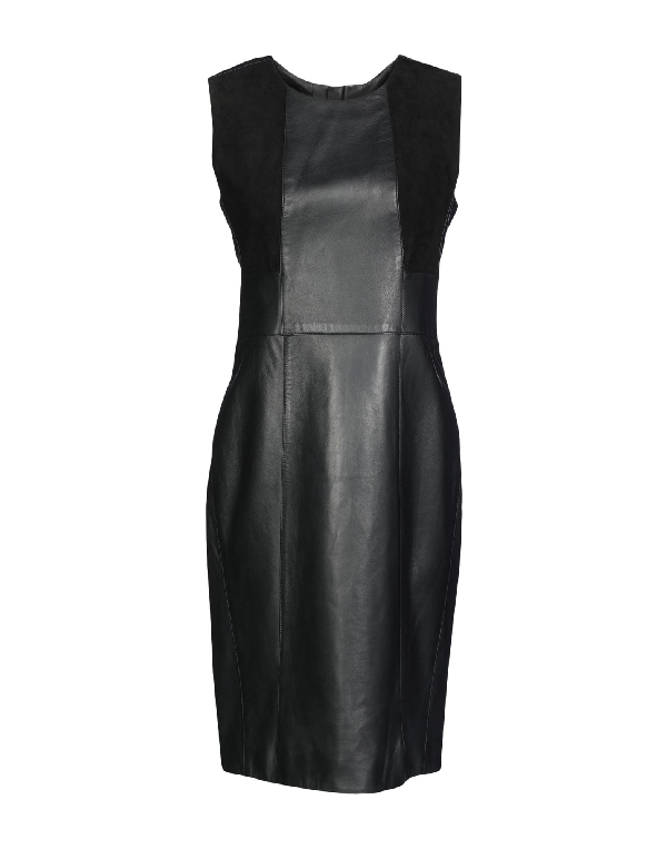 Belstaff Short Dresses In Black