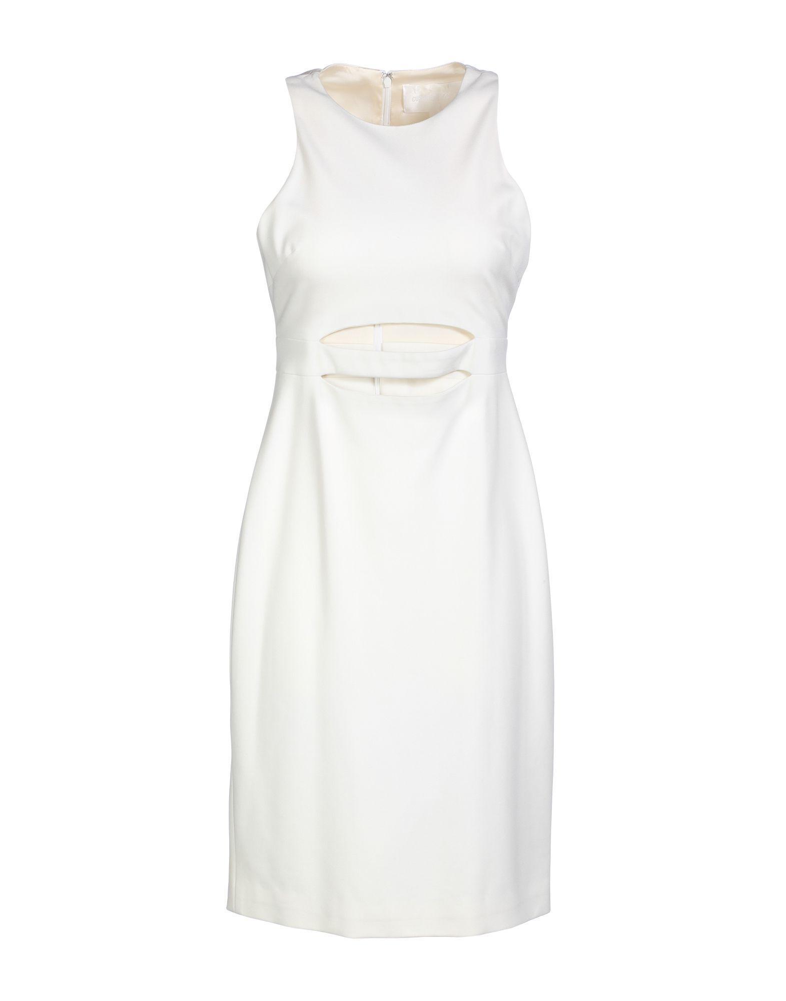 Cushnie Et Ochs Short Dress In White