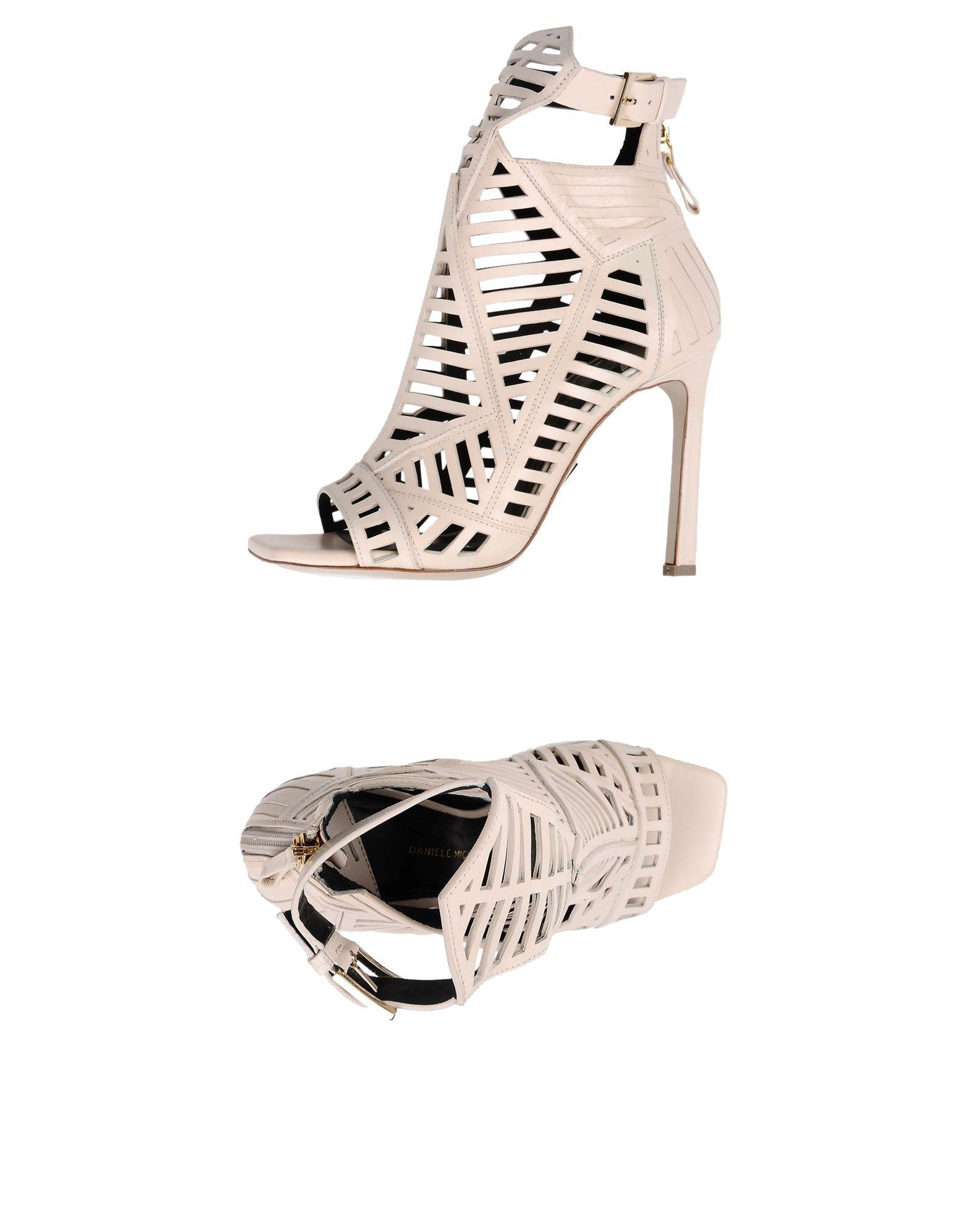 Daniele Michetti Sandals In Pale Pink