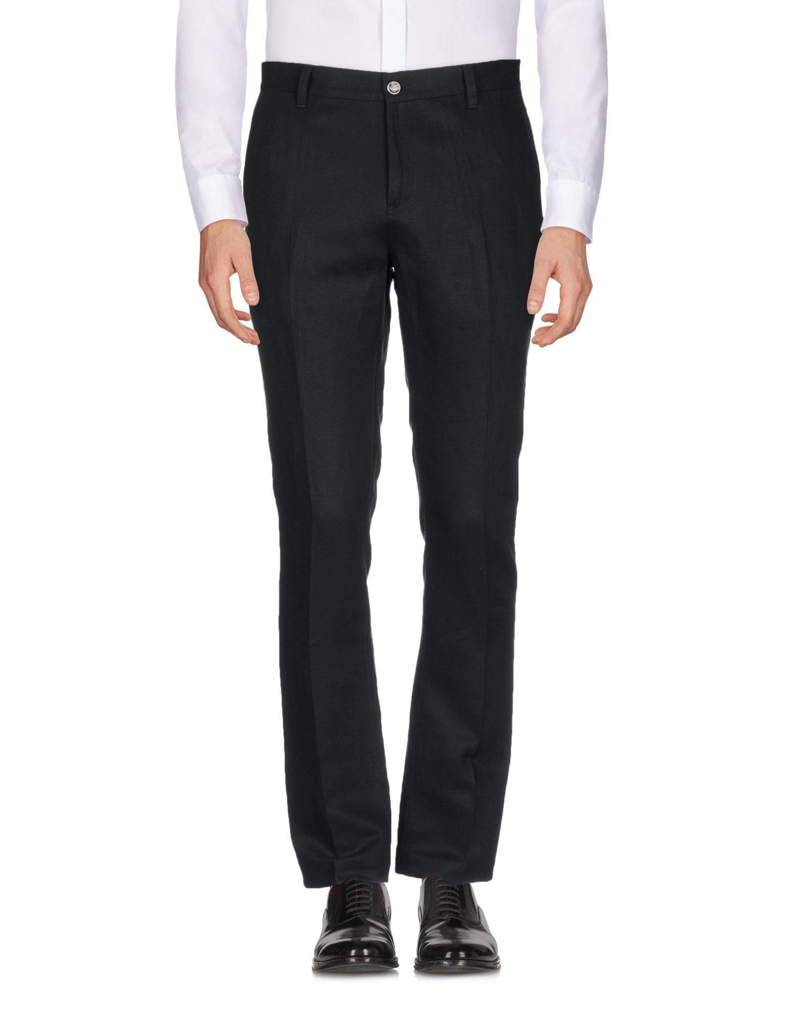 John Varvatos Casual Pants In Black
