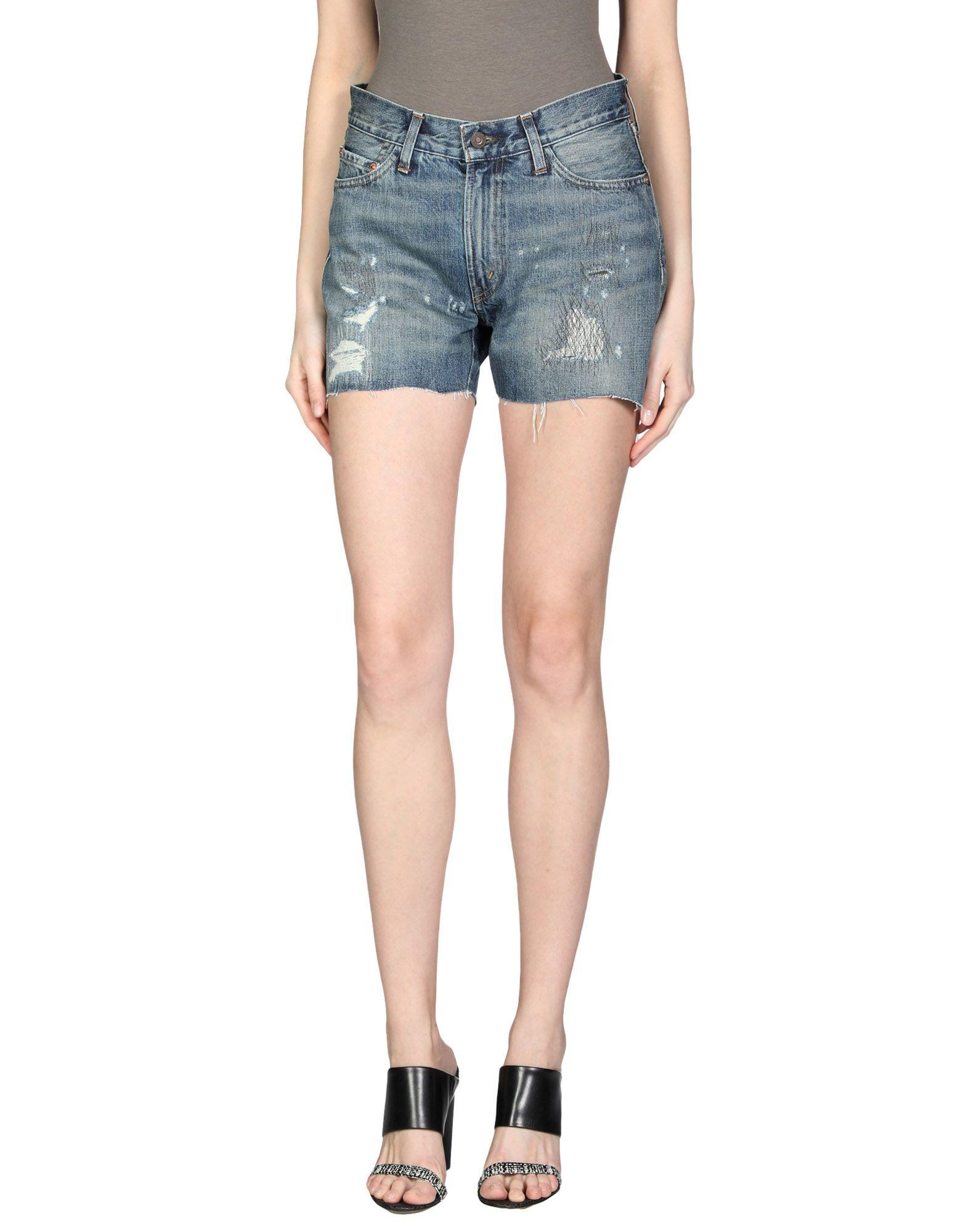Levi's Denim Shorts In Blue