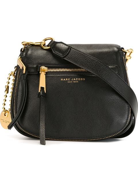 8b393f749 Marc Jacobs Small Recruit Nomad Pebbled Leather Crossbody Bag - Black