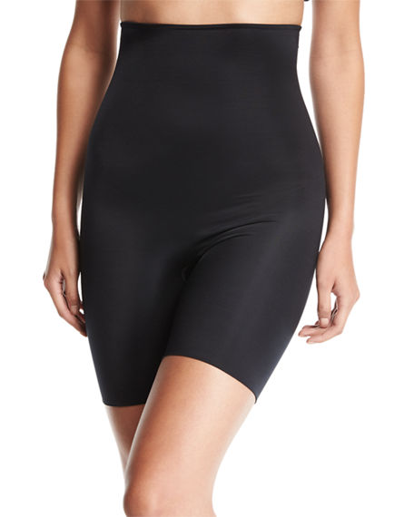 6652d12292 Spanx Plus Size Firm Tummy-Control High-Waist Double-Layered Thigh Slimmer  10132P