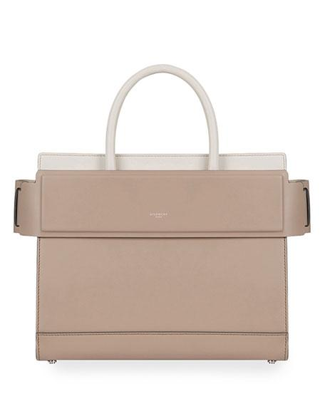 97ecebf8661d Givenchy Horizon Small Bicolor Leather Tote Bag In Light Beige ...