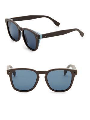 959ccff555f Fendi 52Mm Square Sunglasses In Brown
