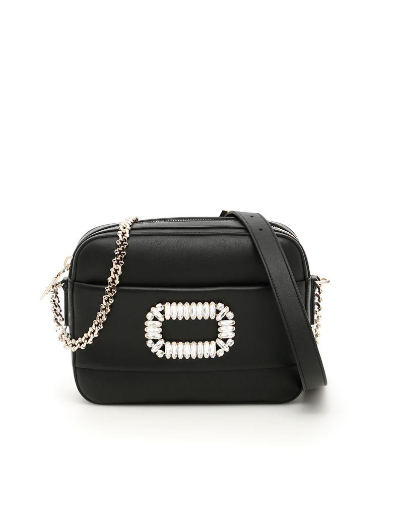 Roger Vivier Photocall Camera Bag In Neronero