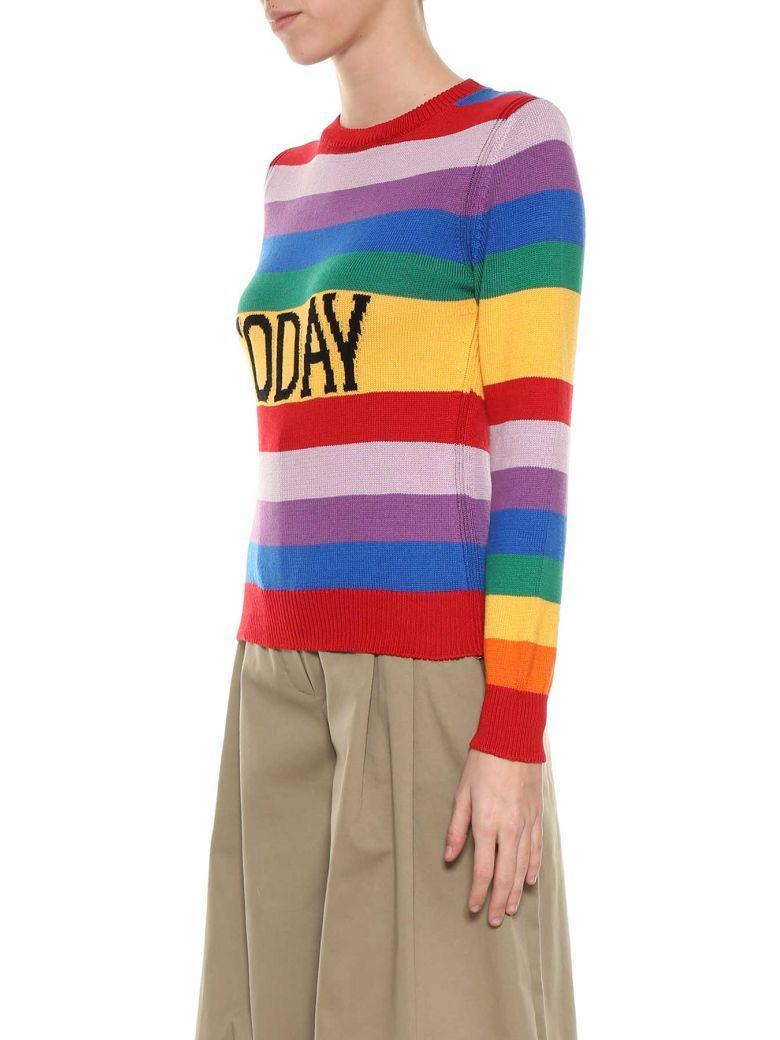 Alberta Ferretti Rainbow Week Pull In Multi
