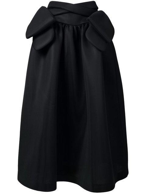 Simone Rocha Bow Detail Maxi Skirt