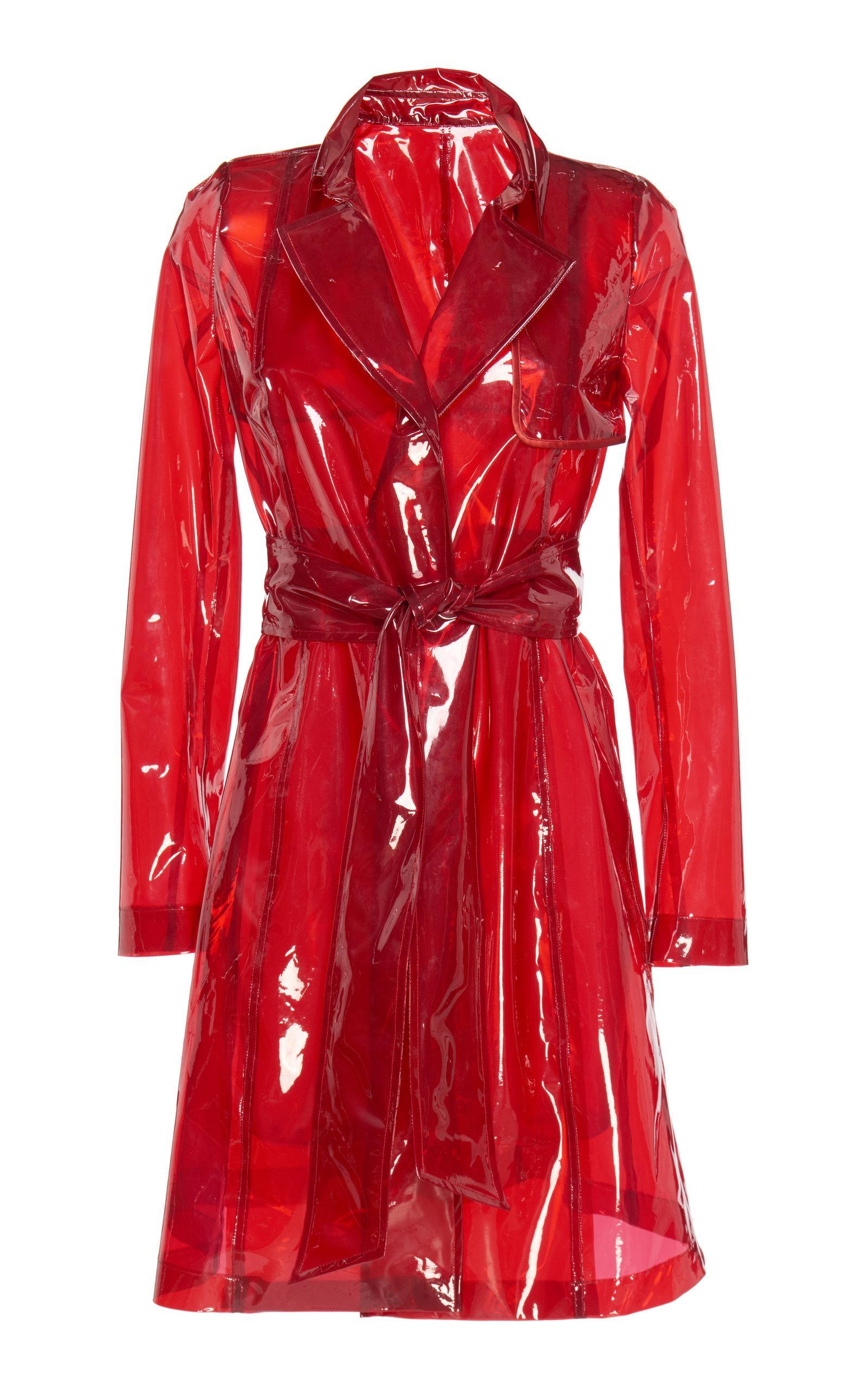 Galvan Sheer Gloss Coat In Red