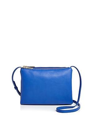 Aqua Triple-pouch Handbag - 100% Exclusive In Cobalt Blue/gold