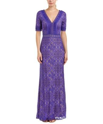 Tadashi Shoji Gown In Purple