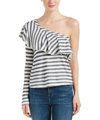 Splendid One-shoulder Top In Nocolor