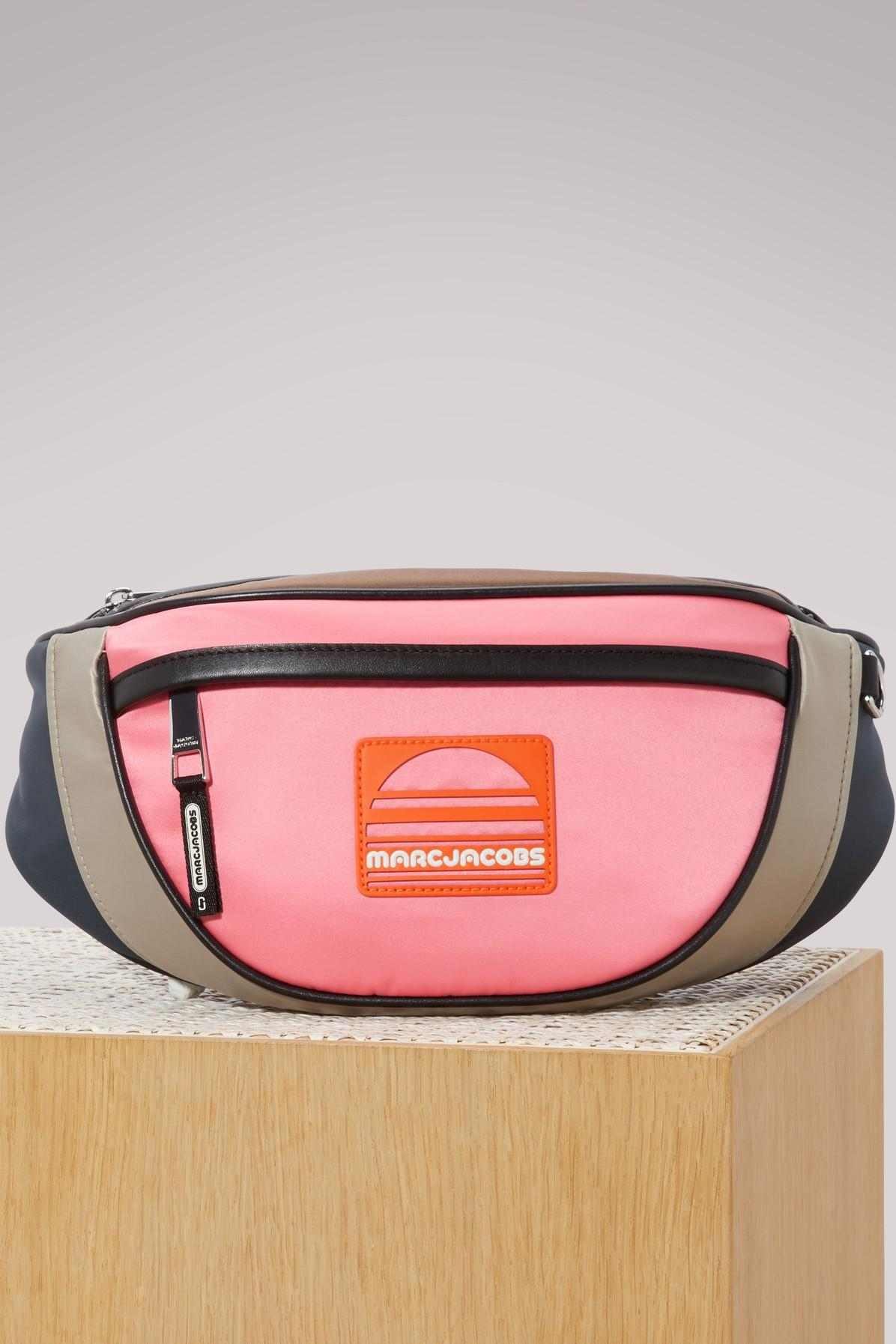 Marc Jacobs Sport Fanny Fanny Pack In Rosa Multicolor