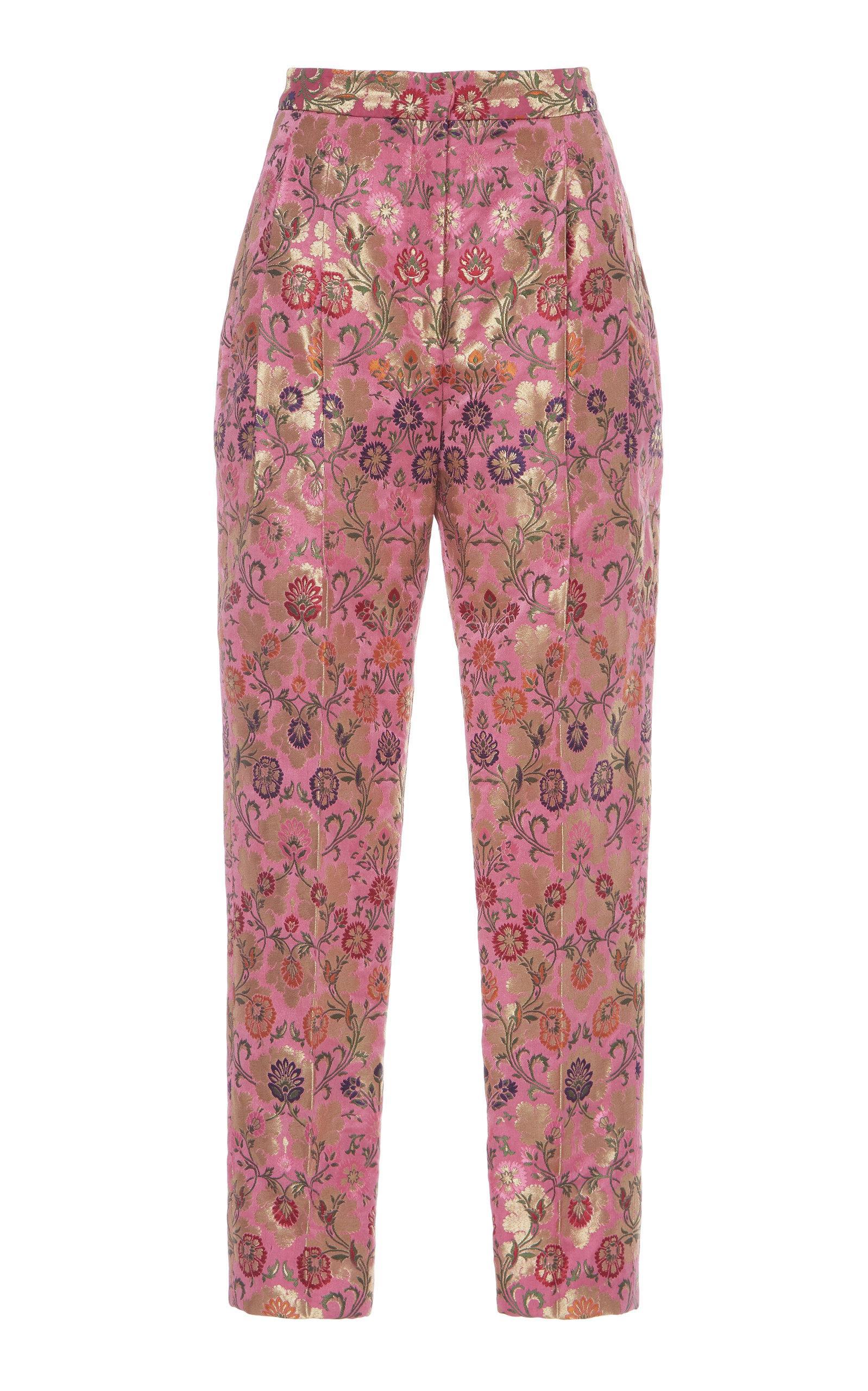 Rahul Mishra Kinkhab Tubas Printed Trouser