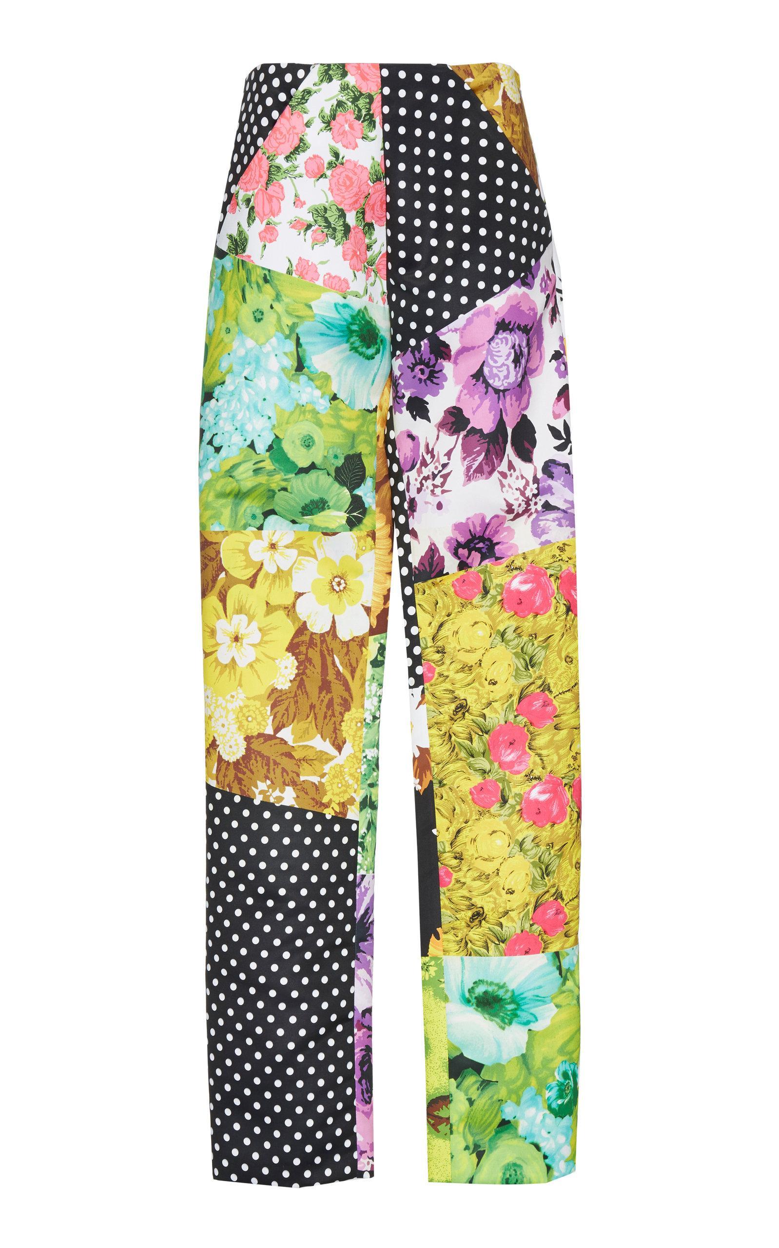 Richard Quinn Patchwork Trouser In Print