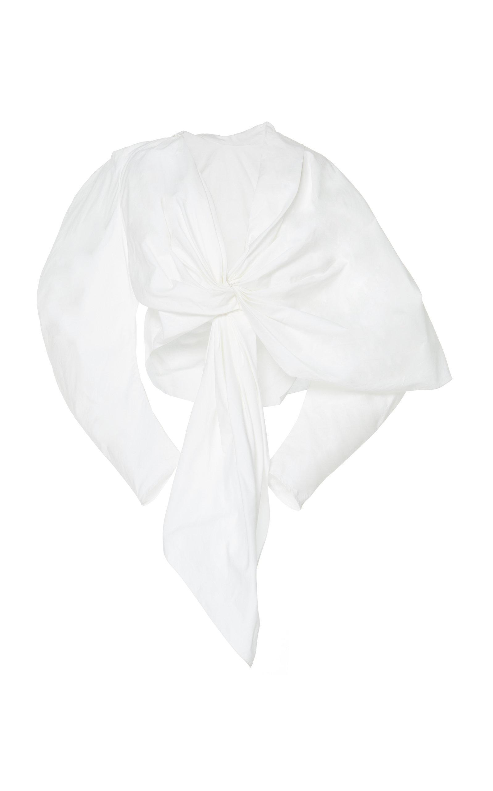 A.w.a.k.e. Reversible Cotton Top In White