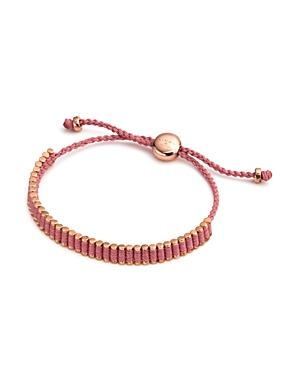 Links Of London Mini Friendship Bracelet In Pink
