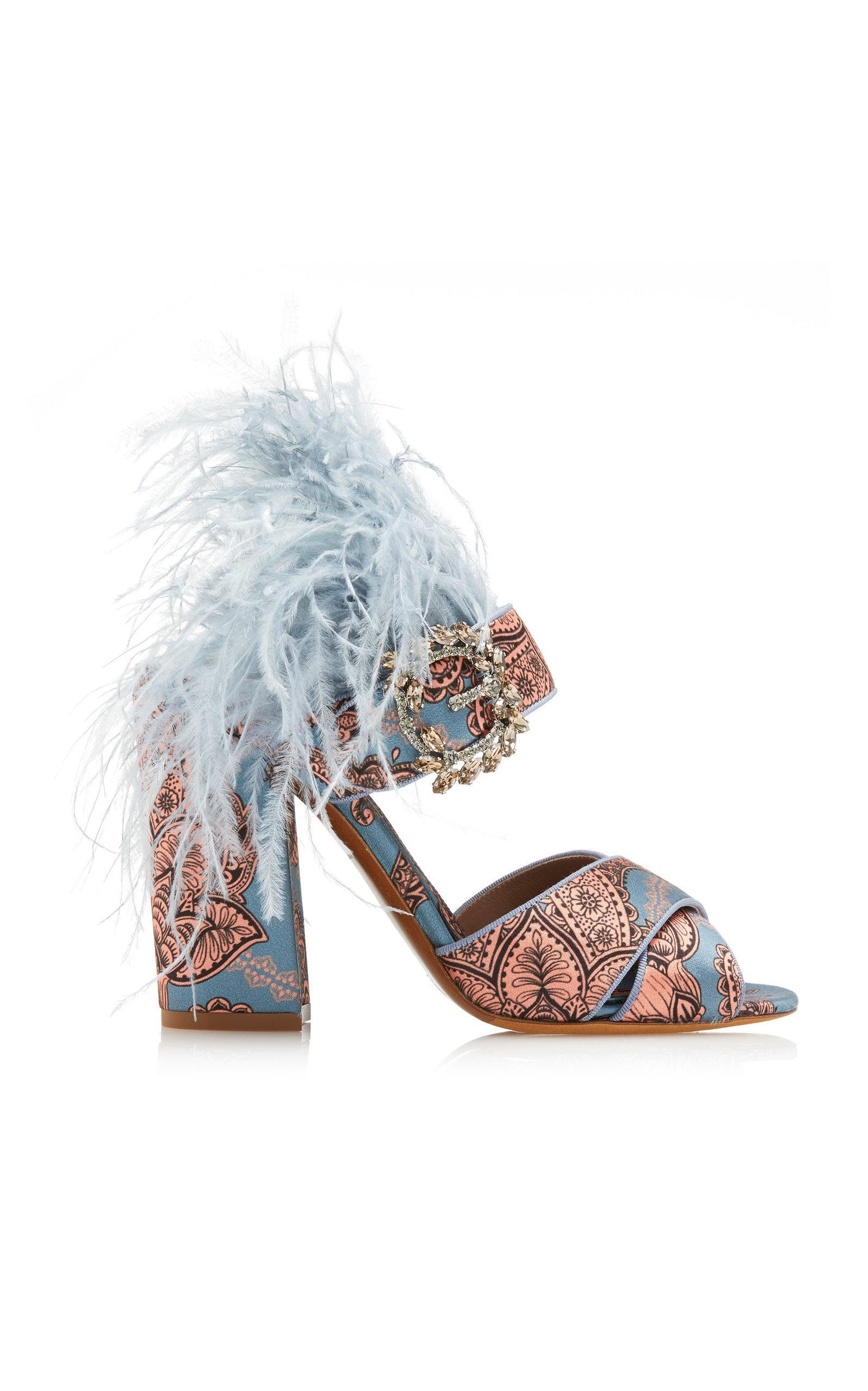 Tabitha Simmons Reyner Sandal In Blue