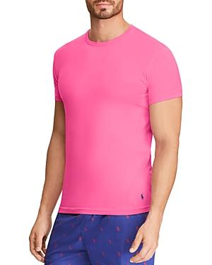 Polo Ralph Lauren Loungewear Crewneck Tee In Pink