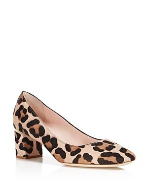 Kate Spade New York Dolores Too Leopard Print Calf Hair Pumps - 100% Exclusive In Blush/fawn Leopard