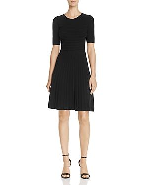 Hugo Boss Frida Fit-and-flare Dress - 100% Exclusive In Black