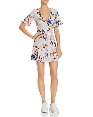 Sadie & Sage Floral Button-down A-line Dress - 100% Exclusive In Pink Multi