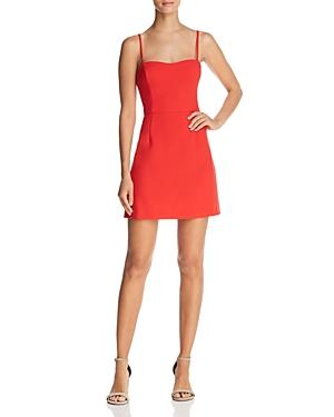 3510460126d French Connection Whisper Light A-Line Dress - 100% Exclusive In Shanghai  Red