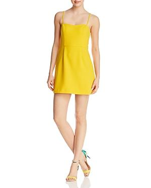 French Connection Whisper Light A-line Dress - 100% Exclusive In Citrus