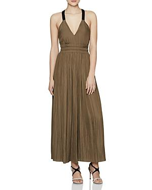 Reiss Frances Shirred Maxi Dress - 100% Exclusive In Vintage Satin