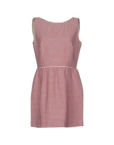 Red Valentino Short Dress In Red