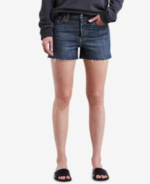 Levi's Wedgie High-Rise Denim Shorts In Wedgie From The Block