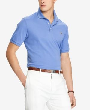 Polo Ralph Lauren Men's Classic Fit Soft-touch Polo In City Blue