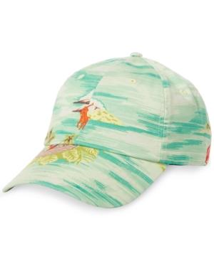 Polo Ralph Lauren Men's Graphic Embroidered Chino Baseball Cap In Prepster Hawaiian