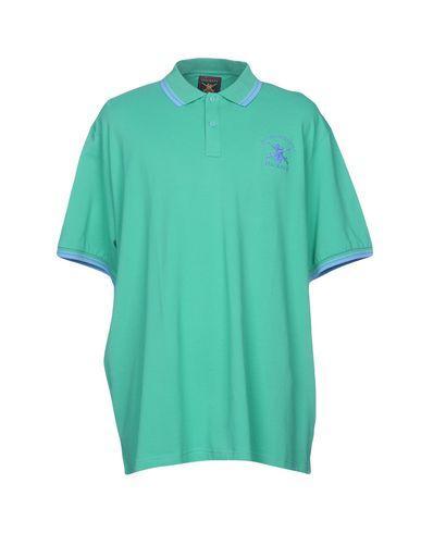Hackett Polo Shirt In Light Green