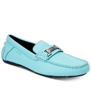 Calvin Klein Men's Magnus Driver Men's Shoes In Cadet Blue