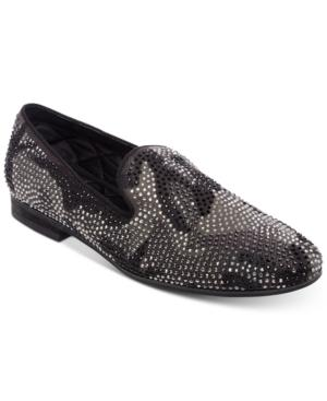 45187a956e7 Men's Recruit Embellished Smoking Slippers Men's Shoes in Black Suede