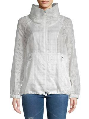 Akris Lightweight Hooded Jacket In Anemone
