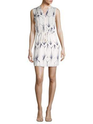 Tart Calla Print Dress In White