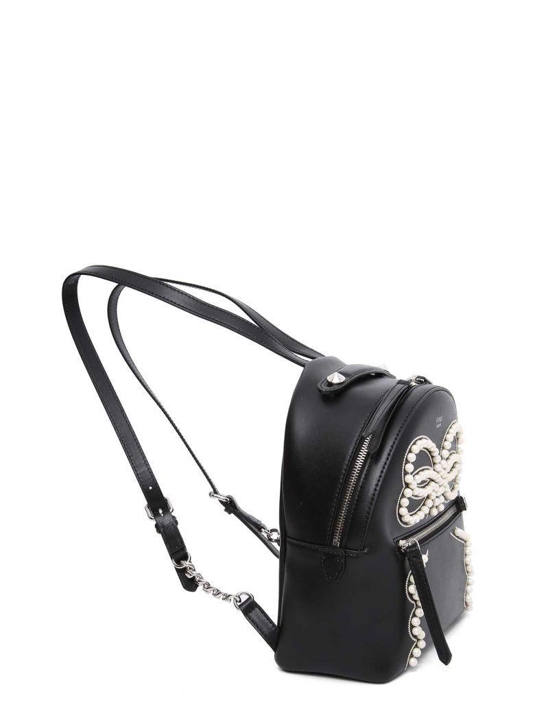 Fendi Mini Backpack In Nero