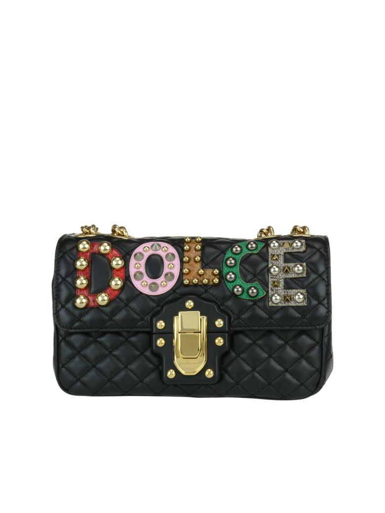 Dolce & Gabbana Lucia Crossbody Bag In Black