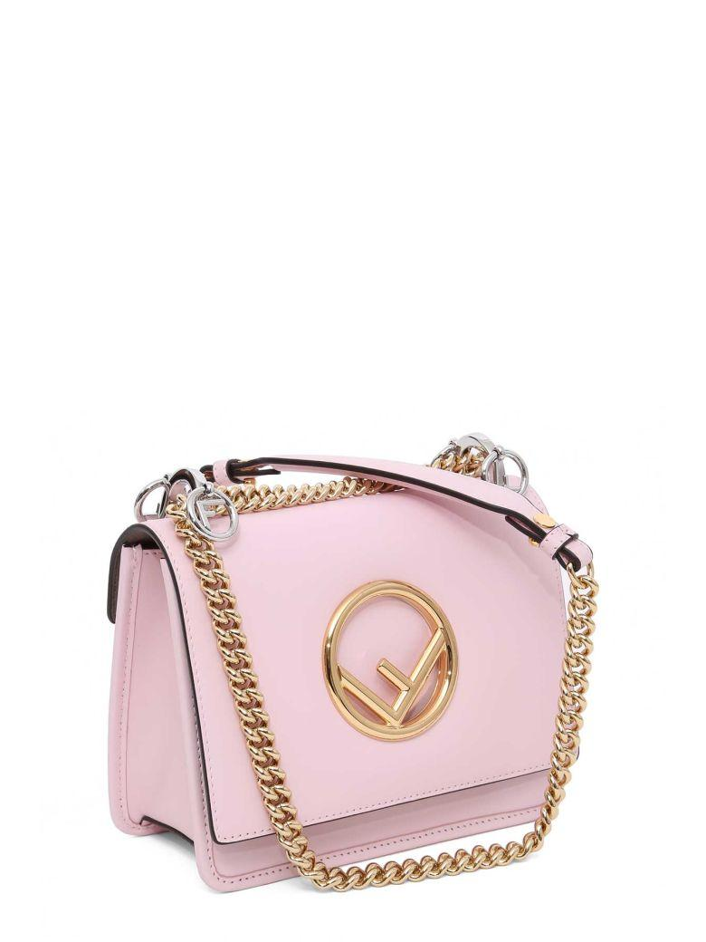 Fendi Kan I F Small Handbag In Rosa