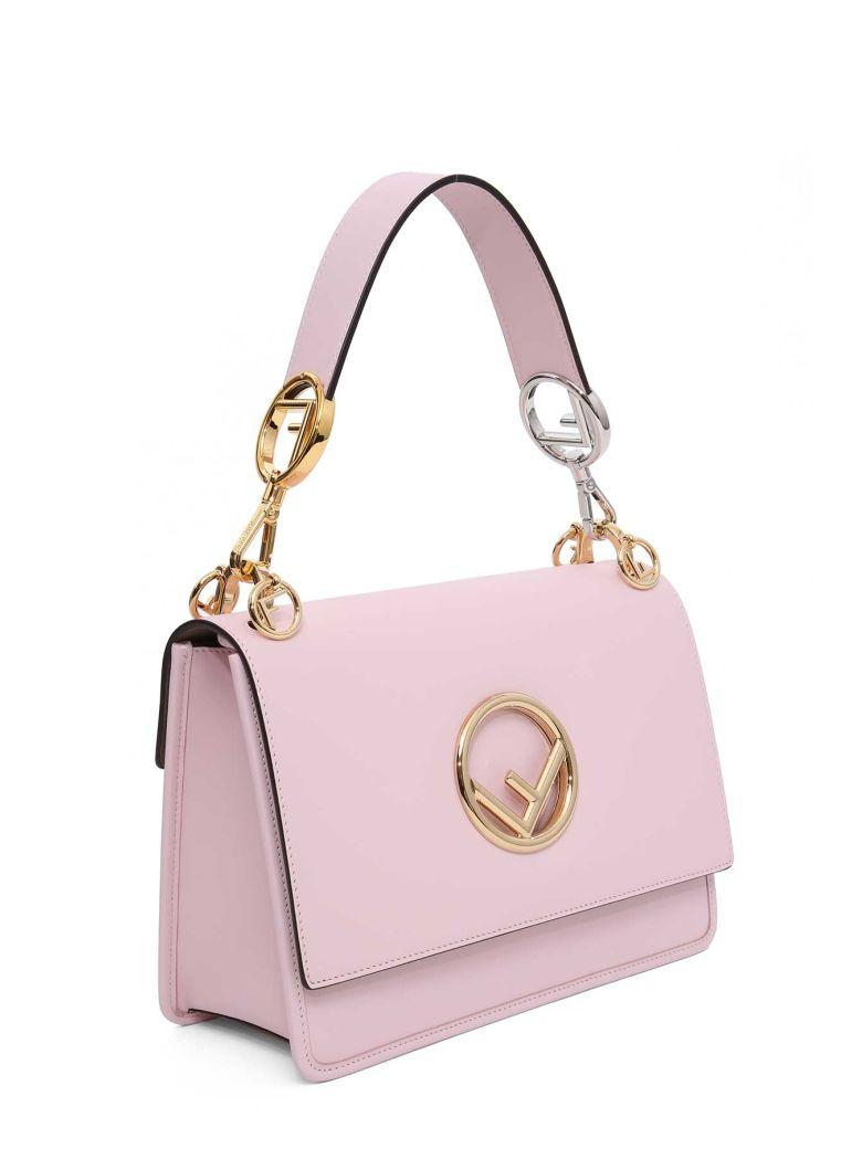 Fendi Kan I F Handbag In Rosa