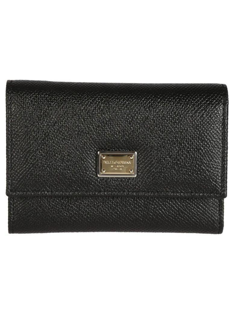 Dolce & Gabbana Fold-out Purse In Black